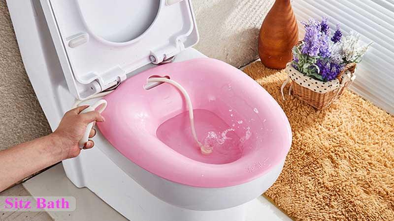 استفاده از حمام سیتز برای درمان بیماریهای مقعدی